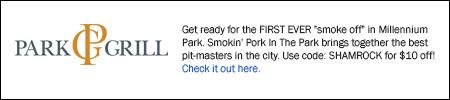 Park Grill promotion