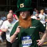 Runner in costume