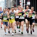 A group of elite runners